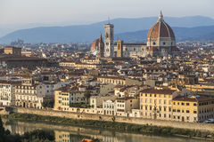 Historic center of Florence Stock Image