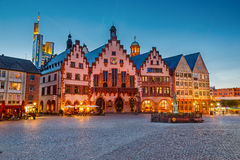 Historic Center of Frankfurt Stock Photos