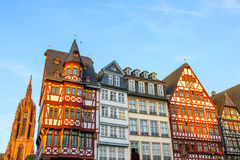 Historic center of Frankfurt Stock Photo