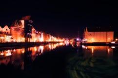 Historic center of Gdansk Royalty Free Stock Photo