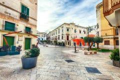 The historic center of a Gravina in Puglia. Gravina in Puglia ancient town,  Apulia, Italy. Europe stock photography