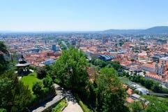 The Historic center of Graz in Austria Royalty Free Stock Photo