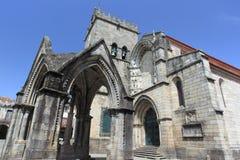 Historic center of Guimaraes Stock Images
