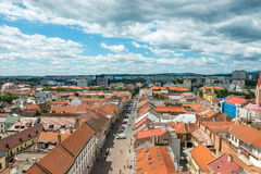 Historic center of Kosice Royalty Free Stock Photos