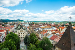 Historic center of Kosice Stock Image