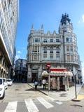 Historic center of La Coruna, Galicia, Spain Royalty Free Stock Photo