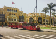 Historic Center of Lima in Peru Royalty Free Stock Images
