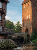 The historic center of Lueneburg in Germany. The historic center of Lueneburg, Germany Stock Images