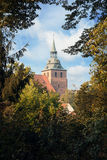 The historic center of Lueneburg in Germany. The historic center of Lueneburg, Germany Royalty Free Stock Images