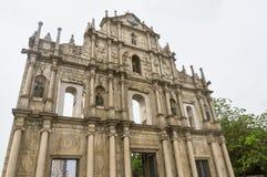 Historic Center of Macau Stock Images