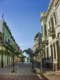Historic Center of Montevideo Royalty Free Stock Photography