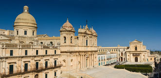 Historic Center of Noto Royalty Free Stock Photography