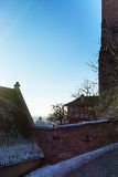 The historic center of Nuremberg.Germany. City nuremberg germany history sky roof old Royalty Free Stock Photography