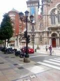 Historic center of Oviedo, Asturias, Spain Royalty Free Stock Image