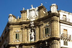 Historic center of palermo Royalty Free Stock Image