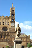 Historic center of palermo Stock Photos