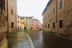 Historic center, Parma Royalty Free Stock Image
