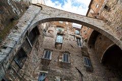 Historic center of Perugia Stock Photos