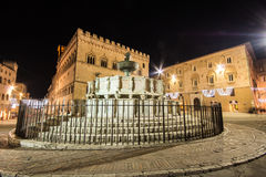 The historic center of Perugia, Umbria Stock Photography