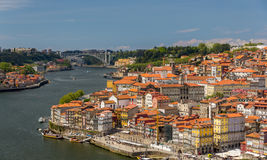 The historic center of Porto Royalty Free Stock Photography