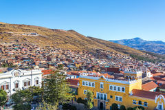 Historic Center of Potosi, Bolivia Stock Image