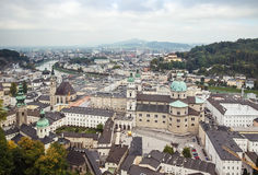 The historic center of Salzburg, Austria Royalty Free Stock Image