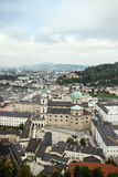 The historic center of Salzburg, Austria Stock Image