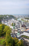 The historic center of Salzburg, Austria Stock Photos