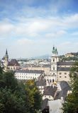 The historic center of Salzburg, Austria Royalty Free Stock Photography