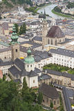 The historic center of Salzburg. Royalty Free Stock Images