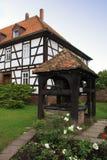 Historic center of Schlitz Stock Photo