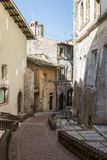 Historic center of Spoleto Stock Photography