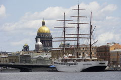 The historic center of St. Petersburg Stock Photos