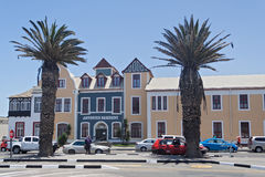 Historic center Swakopmund, Namibia Royalty Free Stock Image