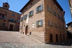 Historic center of Urbino Stock Photo