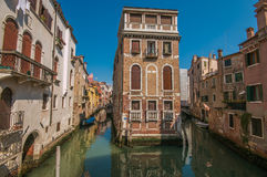 The historic center of Venice Royalty Free Stock Photography