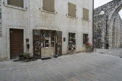 The historic center in Venzone, Friuli, Italy Royalty Free Stock Photos