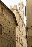 The historic center of Volterra (Tuscany, Italy) Royalty Free Stock Images