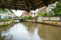 Historic Center of Wissembourg, Stock Photo