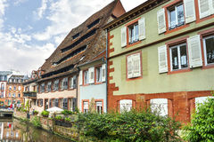 Historic Center of Wissembourg, Royalty Free Stock Image