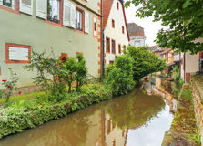 Historic Center of Wissembourg, Stock Photography