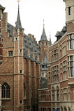 The historic centre of Antwerp Stock Photography