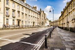 The historic centre of Bath Royalty Free Stock Images