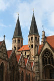 Historic centre of Braunschweig Royalty Free Stock Photo