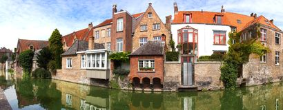 Historic Centre of Brugge, Belgium Royalty Free Stock Photography
