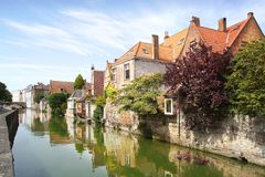 Historic Centre of Brugge, Belgium Royalty Free Stock Image