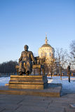 Historic centre of the city of Oryol. Russia. Stock Photography