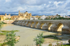 Historic centre of Cordoba Stock Image