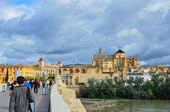 Historic centre of Cordoba Stock Images