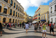 The Historic Centre of Macao Stock Photos